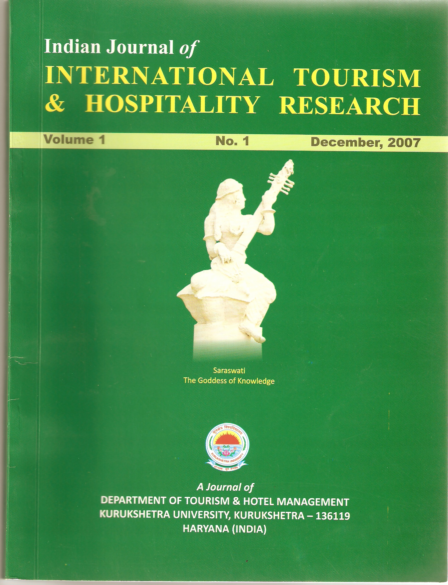 tourism research papers india